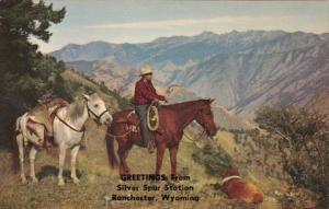 Wyoming Greetings From Ranchester Greetings From Silver Spur Station Deer Hun...