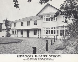 Redroofs Theatre School Maidenhead Berks Vintage Advertising Large Photo