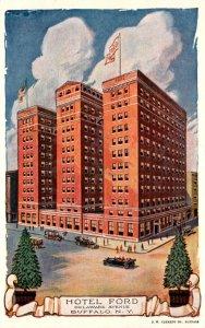 New York Buffalo Hotel Ford Delaware Avenue