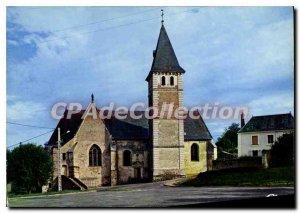 Postcard Modern Courdemanche Sarthe Church