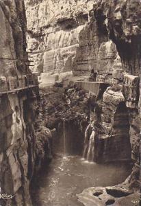 RP; Constantine , Algeria , 30-50s ; Au fond des Gorges du Rhummel
