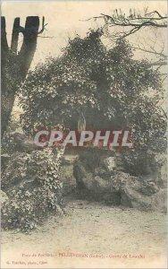 Postcard Old Pellevoisin (Indre) Lourdes Grotto