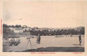 EPINAL VOSGES FRANCE~LA CLASS 1916 a l'EXERCISE~BOUTELLER PHOTO POSTCARD