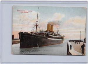 5037  S.S.  D. Gr. Kurfurst Passenger Ship Norddeutscher  LLoyd
