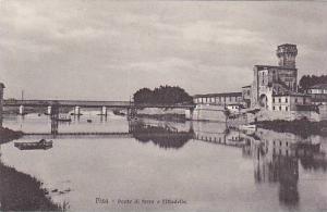 Ponte Di Ferro E Cittadella, Pisa (Tuscany), Italy, 1900-1910s