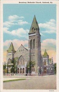 Broadway Methodist Church Paducah Kentucky 1942