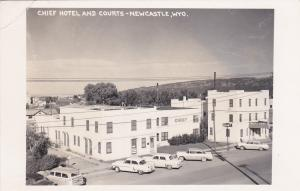 RP: Chief Hotel & Courts , NEWCASTLE , Wyoming , 30-40s ; Sanborn Y-2602