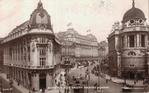 UK - Aldwych and Gaiety Theatre London REAL PHOTO 01.63