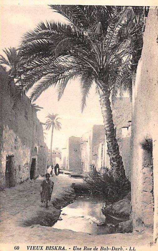 Une Rue de Bab Darb Vieux Biskra Algeria Unused