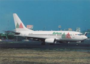 AZTECA AIRLINES, Boeing 737-7EA, unused Postcard