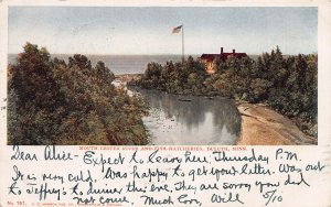 Lester River & Fish Hatcheries, Duluth, MN, 1905 Postcard, Used, R.P.O. Cancel