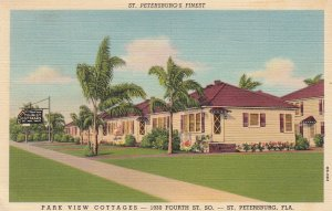 ST PETERSBURG , Florida , 1930-40s ; Park View Cottages