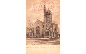 First Baptist Church Batavia, New York Postcard