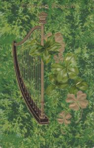 SAINT-PATRICK´S DAY; Erin Go Bragh, Gold Harp, PU-1909
