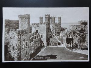 Caernarvon Castle c1934 Postcard