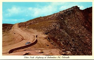 Colorado Pikes Peak Highway At Bottomless Pit