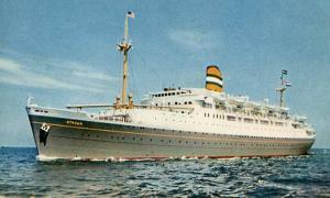 Holland America Line - SS Ryndam