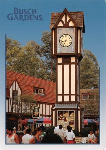 Bush Gardens - Big Ben Clock Tower, Virginia