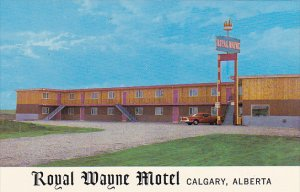 Canada Royal Wayne Motel Calgary Alberta