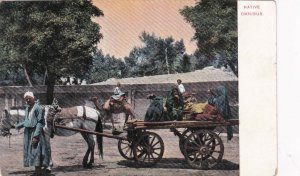 Egypt Cairo Native Omnibus Horse and Wagon sk2074a