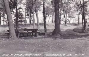RP, View At Eagle Point Park, Cumberland, Wisconsin, PU-1957