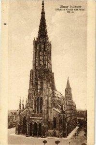 CPA AK Ulm Hochste Kirche der Welt GERMANY (896815)