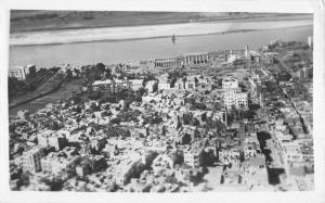 Luxor Egypt Africa Birdseye View Of City Real Photo Antique Postcard K100033