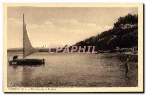 Old Postcard Bormes Un Coin De La Faviere