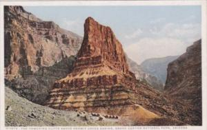 Fred Harvey Arizona Grand Canyon Towering Cliffs Above Hermit Creek Cabins De...