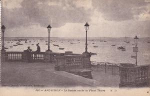 ARCACHON, Gironde, France, 1900-1910´s; Le Bassin Vu De La Place Thiers