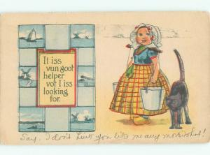 Divided-Back CHILDREN SCENE Great Postcard AA5438