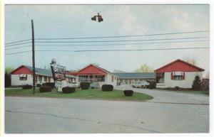 Winchester, Kentucky,  Early View of The Skylit Motel