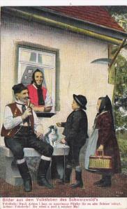 Germany Schwarzwald Bilder Aus Dem Volksleben 1914