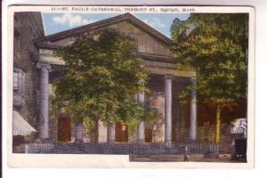 St Paul's Cathedral, Tremont St,  Boston Massachusetts, United Artists