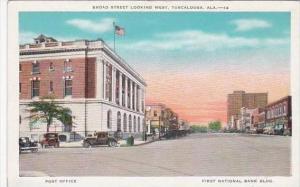 Alabama Tuscaloosa Broad Street Looking West