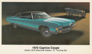 1972 Caprice Coupe ; Chevorlet