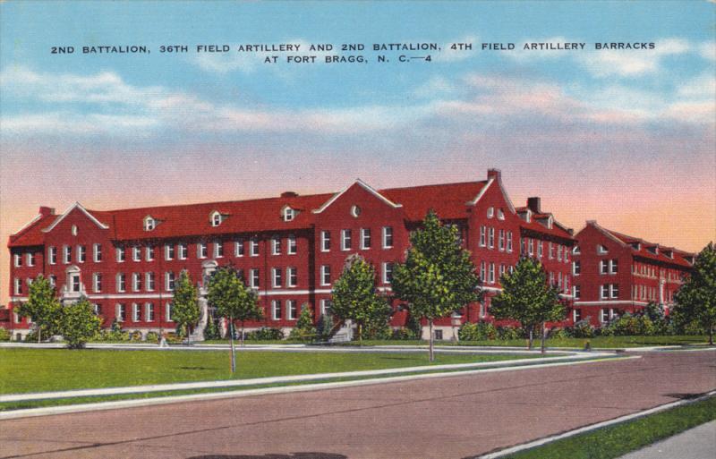4th Field Artillery Barracks, Fort Bragg, Fayetteville, North Carolina, Unite...