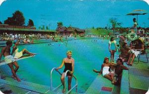 Olympic Pool Grossinger's Resort Grossinger New York 1959