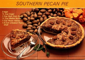 Recipe Card Southern Pecan Pie