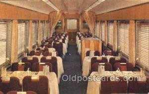 Southern Pacific, Dining Car, Shasta Daylight Train Trains Locomotive, Steam ...