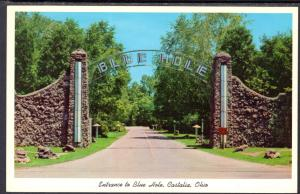 Entrance Blue Hole,Castalia,Ohio
