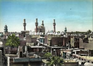 iraq, BAGHDAD BAGDAD, Kadhimain Mosque, Islam (1950s) Tinted RPPC