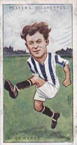 Players Vintage Cigarette Card Footballers Caricatures RIP 1926 No 12 Willis ...