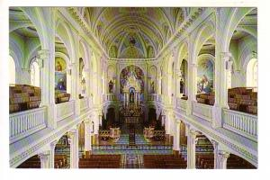 Interior Church Saint Pierre Cheticamp, Cape Breton, Nova Scotia, Photo Fathe...