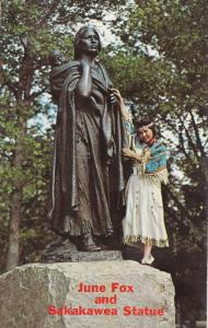 Modern day Indian Princess June Fox from Fort Berthold Reservation, Monument ...