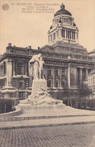 Monument Of The Schoolship (Court Of Justice), BRUXELLES, Belgium, 1900-1910s