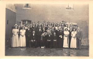 Elegant Wedding? Group, Postcard