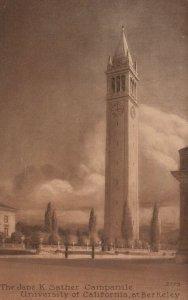 BERKELEY, California, 00-10s; Jane K. Sather Camponile, University of California