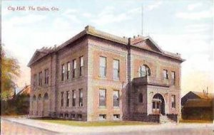 OR The Dalles City Hall