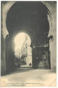 Puerta Del Perdon (Interior), Sevilla (Andalucia), Spain, 1900-1910s
